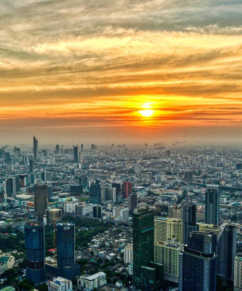 Landscape downtown, Bangkok