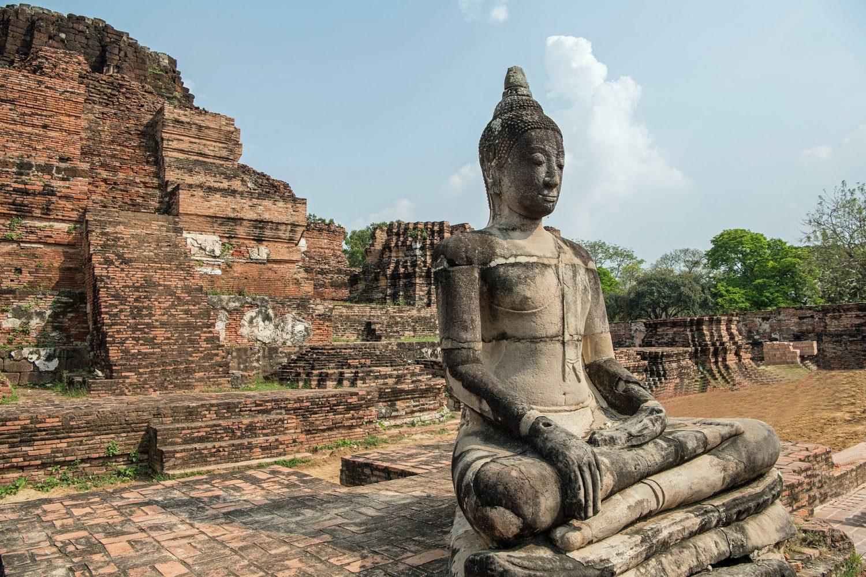 Thailand Ayutthaya ruins old temples