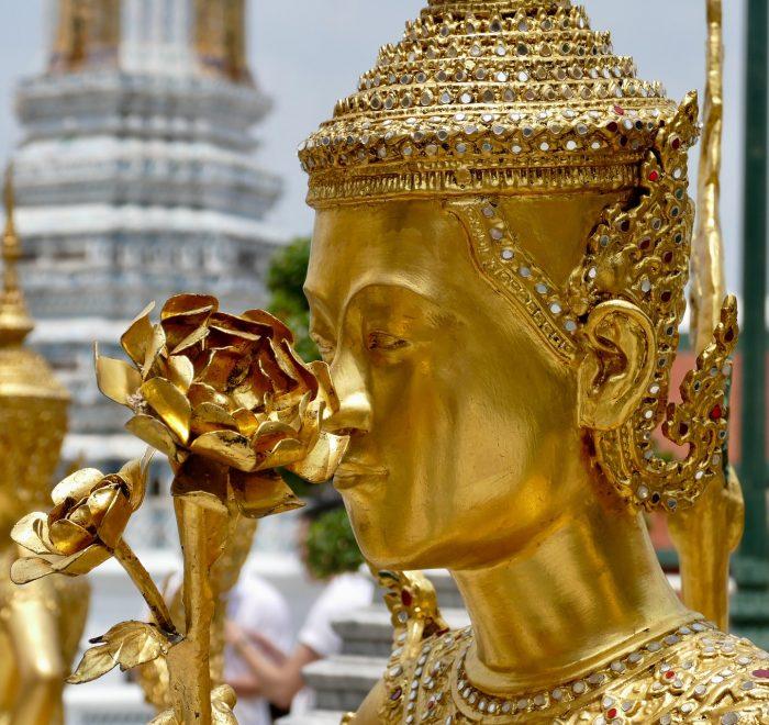 Golden Buddha statue Bangkok