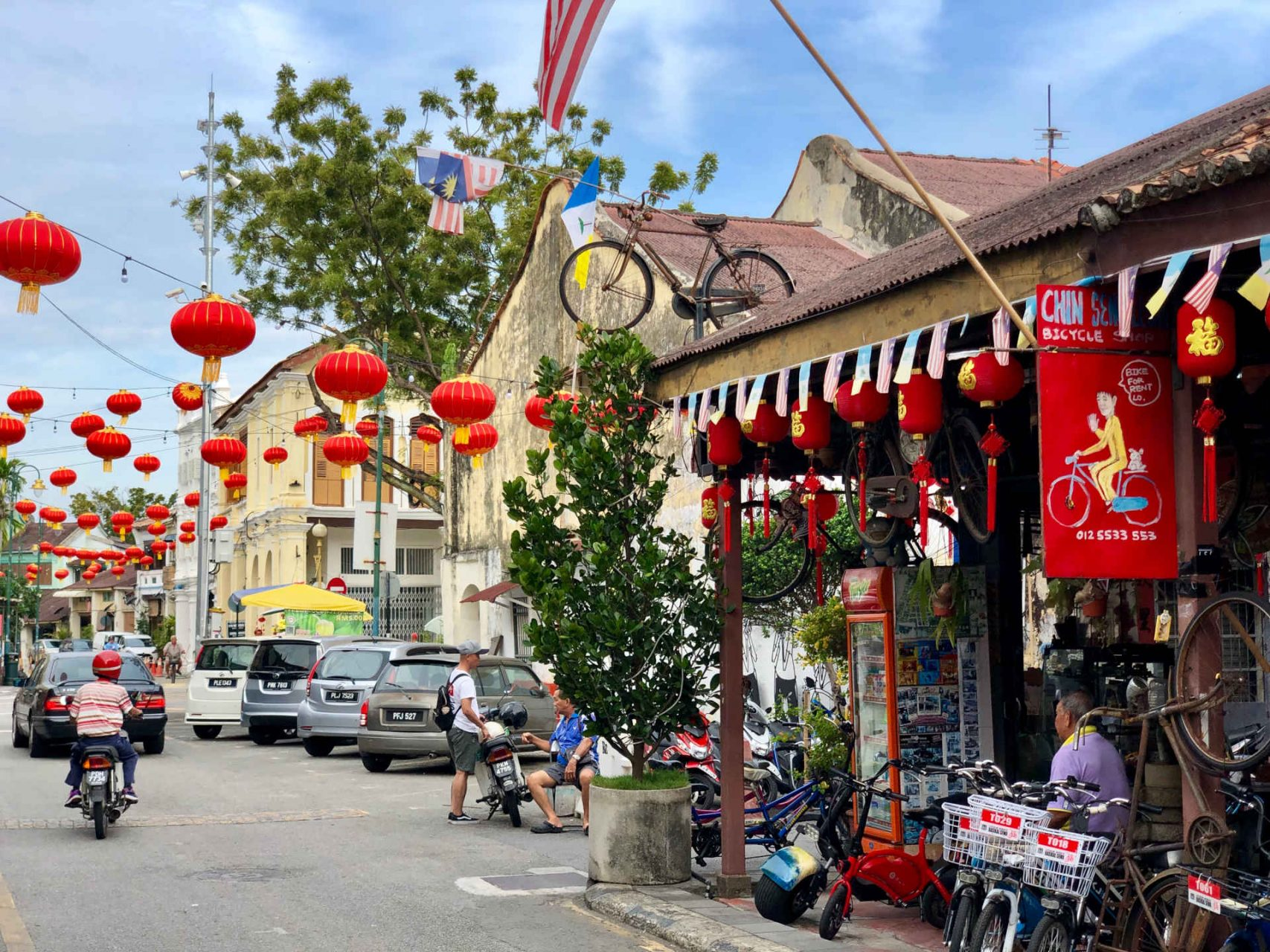 Georgetown street view, Penang
