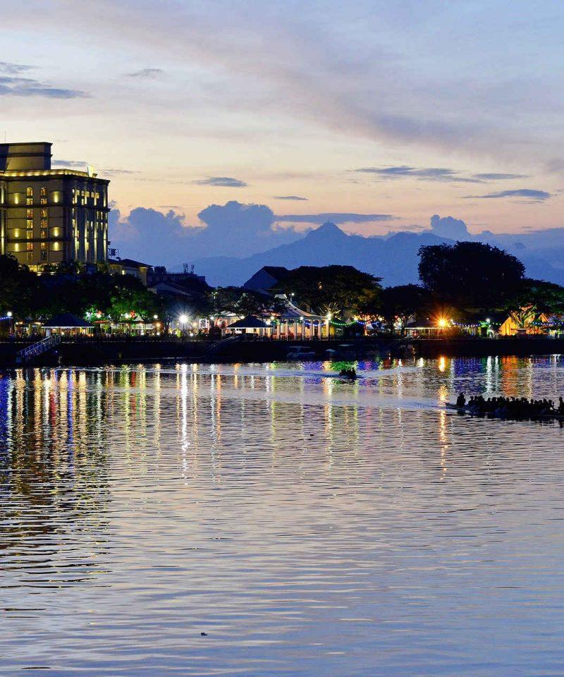 Kuching Sunset