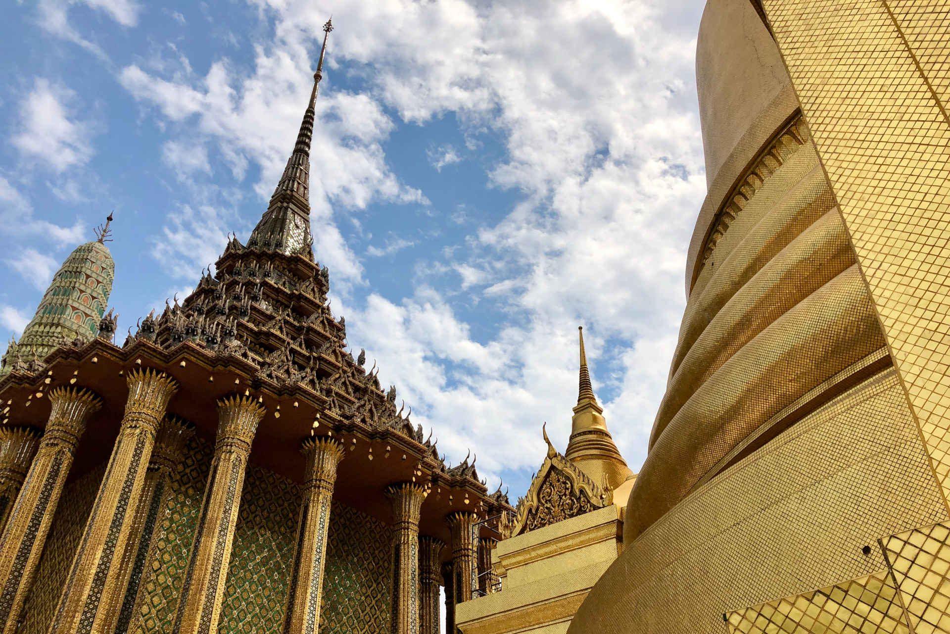 The glittering Royal Grand Palace in Bangkok