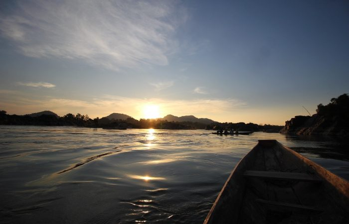 Sunset 4000 Islands Laos
