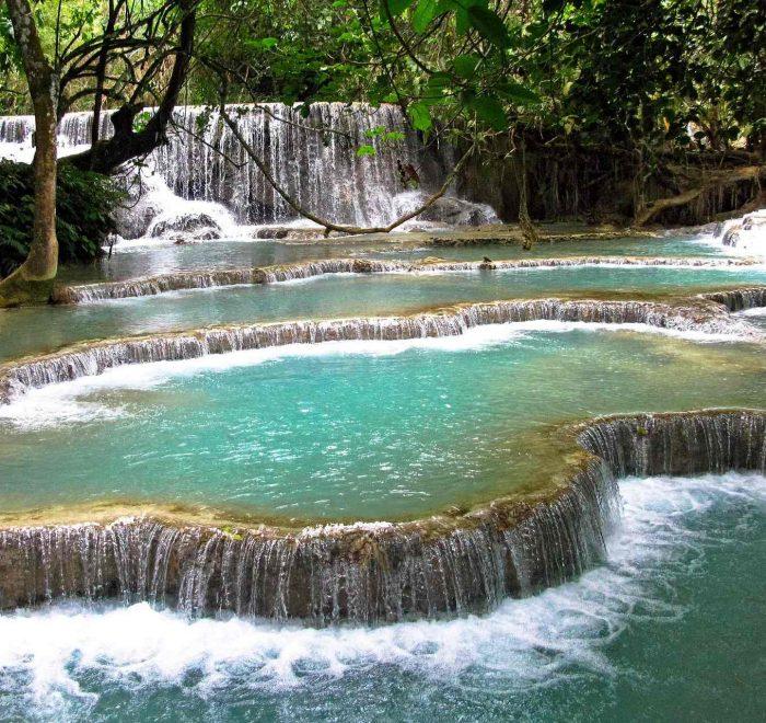 Tad Kuang Xi Luang Prabang Laos