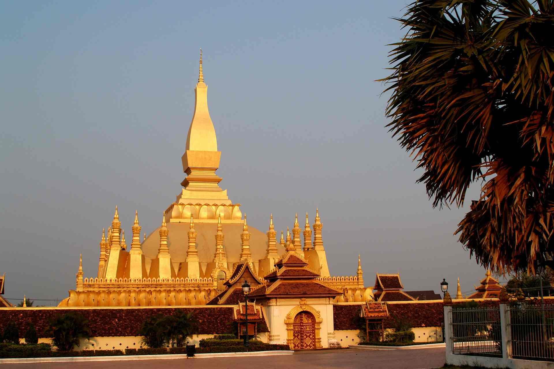 Wat Phra That Luang Vientiane Laos