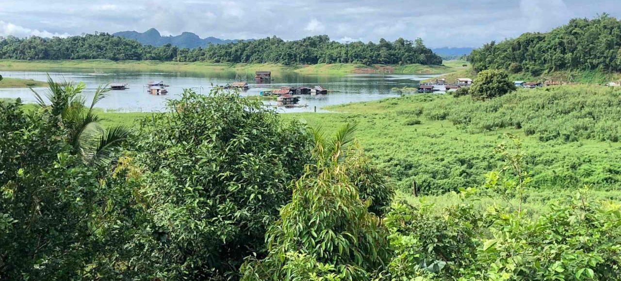 idyllic scenery of Sangkhla Buri